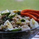 watercress and crab salad