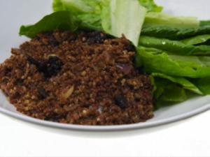 Quinoa Bran Pilaf